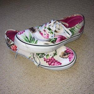 Floral Vans
